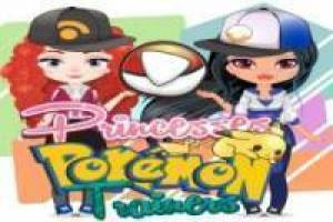 Free Disney princesses are Pokémon trainers Go Game