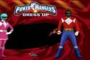 Power Ranger: Vestir