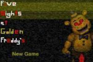 Free Five nights at freddys: golden Freddy Game