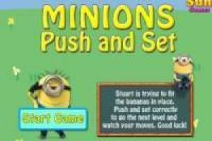 Minions: Push and set