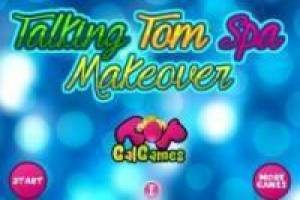 Talking Tom: Spa Makeover