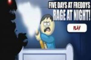 Juego Five Days at Freddy's: Rage at Night para jugar gratis online