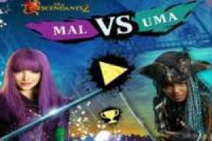 Mal vs Uma : Descendants 2