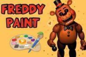 Free Freddy Paint Game