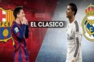 Clásico: Barcelona vs Real Madrid