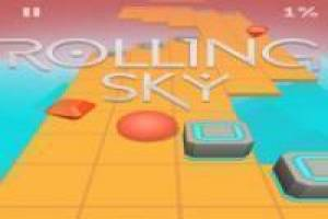 Free Rolling Sky Game