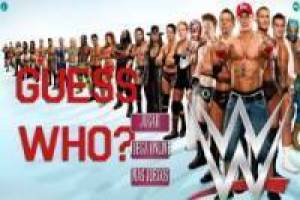 WWE: Who is it?