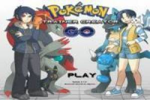 Free Pokémon trainer creator Game