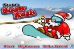 Free Santa Snow Rush Game