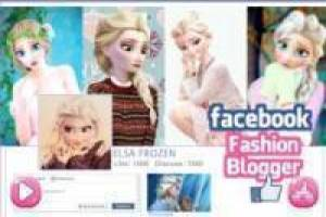 Gioco Elsa Fashion Blogger Gratuito