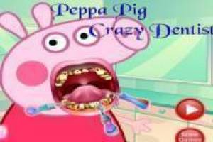 Peppa Pig with dental problems