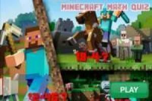 Minecraft Mathe-Quiz