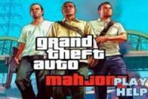 Mahjong Grand Theft Auto