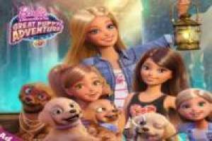 Barbie adventure puppies: Search treasures