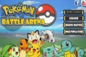 Free Pokémon Battle Arena Game