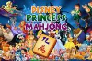 Mahjong Disney princesses