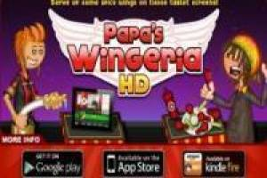 Free Papa's Wingeria: Buffalo wings Game