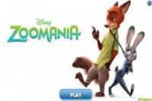 Free Zootopia trains memory Game