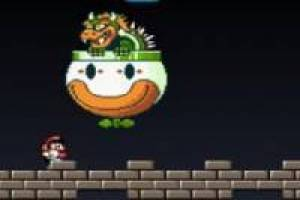 Super Mario Bros vs Bowser