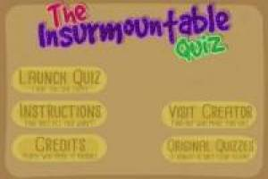 Insurmountable Quiz