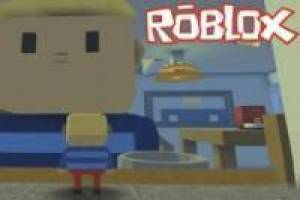 Hello Neighbor in the Roblox style