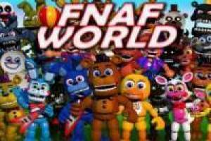Rompecabezas: FNAF World