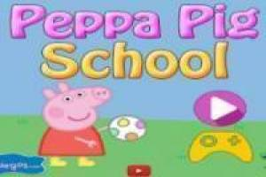 Peppa Pig at school