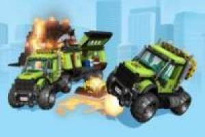 Free Lego City volcano Game