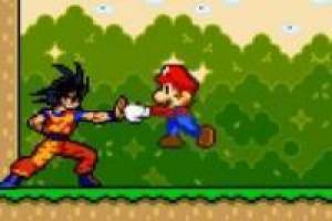 Vídeo: Goku vs Mario Bros