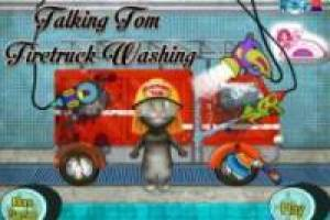 Talking Tom: Camión de bomberos