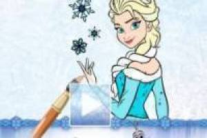 Free Frozen Coloring Book Game