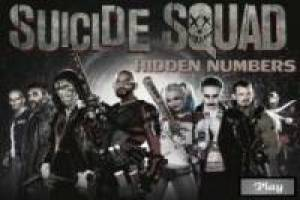 Search the numbers hidden the Suicide Squad