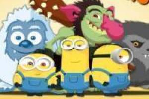 The Minions hunt monsters