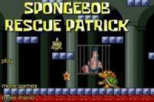 SpongeBob in the world of Mario Bros