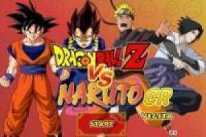 Juego Dragon Ball Z VS Naruto Gratis