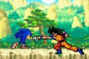 Goku vs Sonic: Animation