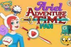 Ariel fã Adventure Time