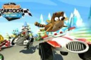 Бесплатно Formula cartoon all star Играть