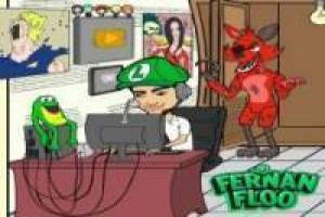Fernanfloo saw game: Puzzles