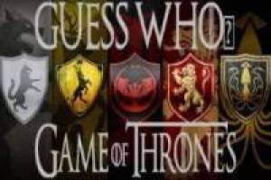 Guess Who i Game of Thrones