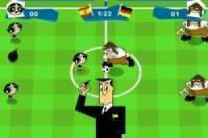 Le football Cartoon