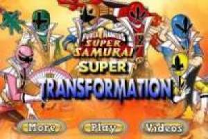 Power Ranger Samurai: Transformación