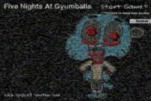 Juego Five Nights At Gumballs Gratis