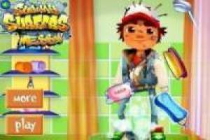 Subway Surfer: Bañar