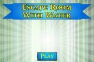 Escape room with water