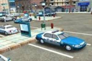 Free Parking of police cars Game