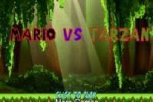 Mario Bros VS Tarzán