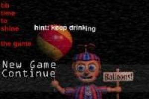 Juego Five at Night Balloon Boy para jugar gratis online