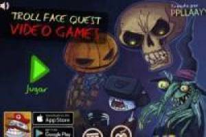 Free Trollface Quest video game Halloween Game
