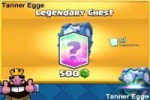 Clash Royale Legendary Chest Simulator